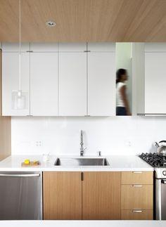 Dasal recessed trim in a kitchen