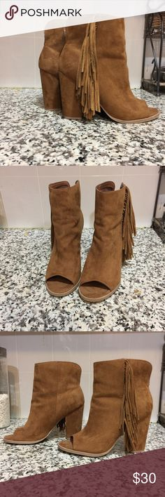 Brown Dolce Vita western booties Stylish and classy western booties. Like new Dolce Vita Shoes Ankle Boots & Booties