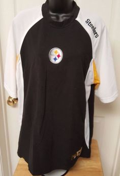 NFL Unisex Multi Color Pittsburgh Steelers Shirt Size L #NFL #PittsburghSteelers