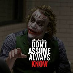 The Joker Heath ledger best quotes with images and Text Quotes Dark Quotes, Strong Quotes, Me Quotes, Motivational Quotes, Inspirational Quotes, Attitude Quotes, Joker Qoutes, Best Joker Quotes, Badass Quotes