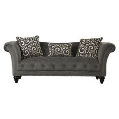 House of Hampton Kirkby Sofa $699  Overall: 33'' H x 90'' W x 36'' D  Overall Product Weight: 136.5lb.