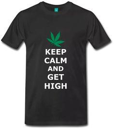 Vape Shirt, 420 Friendly, Keep Calm Get High