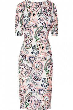 Paisley-print Cotton-poplin Dress by Jil Sander