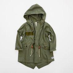 PW283 Cotton mod coat - REA - Barnkläder