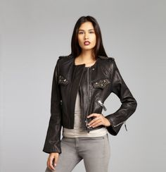 Fall find! Loving leather for this fall! #IsabelMarant #fall #fashion #Bluefly