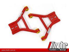 Bandeja de suspensão c/ buchas para carros rebaixados (Gol, Passat e Santana) :: iMohr Technic & Design