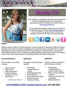 How to Make a Media Kit for Your Blog #blogging #socialmedia