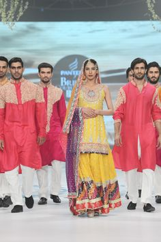 Zainab Chottani Bridal Collection at PBCW 2014 Day 1