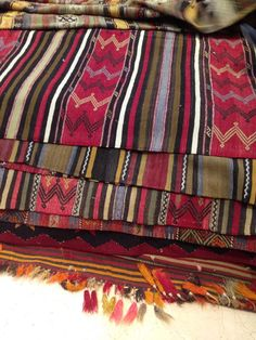 The business of picking amazing rugs! We've gone through hundreds of handmade pieces so far... #BackInIST #kilims