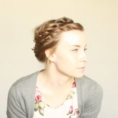I'm loving the wrap around braids this season. It will keep my hair from hating the humidity this summer!