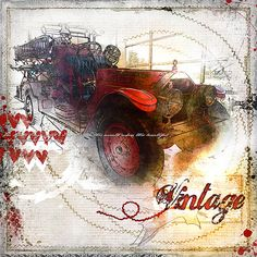 2015 Vintage Fire engine by Easyeyes4you