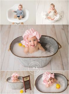 Baby Bath Pictures Newborn Photography 68 Best Ideas Baby Bath Pictures New Baby Milk Bath, Baby Tub, Milk Bath Photos, Bath Pictures, Milk Bath Photography, Toddler Photography, Book Bebe, Accessoires Photo, Baby Drawing