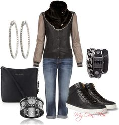 """RUNNIN' AROUND IN TOWN"" by myownflow on Polyvore"