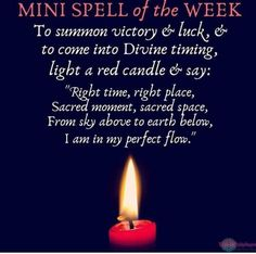 Heres your mini spell for this week! The time is Witchcraft Spells For Beginners, Healing Spells, Magick Spells, Candle Spells, Good Luck Spells, Easy Spells, Love Spells, Full Moon Spells, Witch Spell Book