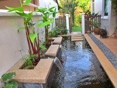 desain kolam ikan minimalis dalam rumah