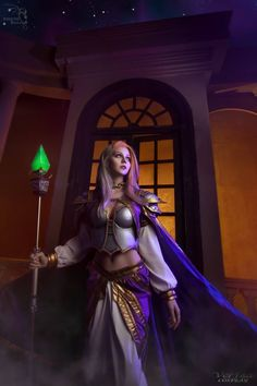 @ver1sa_cosplay as Lady Jaina