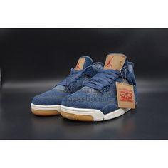 Air Jordan 4 Retro Levi s Denim Jordans For Sale 33f7f1910