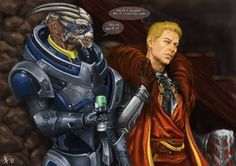 dragon age/mass effect