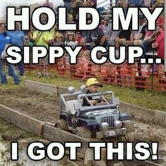 I love this reminds me of my great nephew  on his electric  4 wheeler  this is awesome