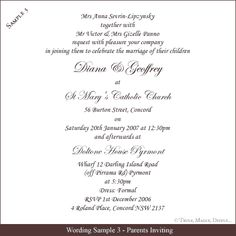Christian Invitation Card wedding invetations Pinterest