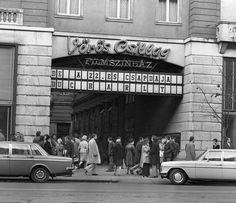 1977  Lenin, Erzsébet krt. Vörös Csillag Mozi Old Pictures, Old Photos, Vintage Photos, Anno Domini, Old Signs, Budapest Hungary, Good Old, Historical Photos, Black And White