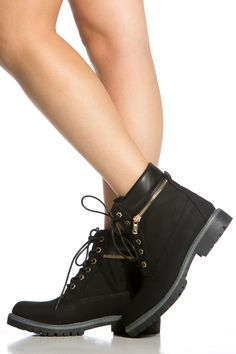 Black Faux Leather Lace Up Hiker Ankle Boots @ Cicihot Boots Catalog:women's winter boots,leather thigh high boots,black platform knee high boots,over the knee boots,Go Go boots,cowgirl boots,gladiator boots,womens dress boots,skirt boots.