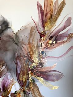 Abstract painting with alcohol ink - By Aesthetic Alchemy Art The Effective Pictures We Offer You About diy face mask A quality picture - Alcohol Ink Painting, Alcohol Ink Art, Iphone Background Wallpaper, Aesthetic Iphone Wallpaper, Watercolor Wallpaper, Watercolor Art, Wallpaper Art, Wallpaper Ideas, Alchemy Art