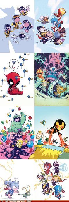 Marvel Babies = most dorbs