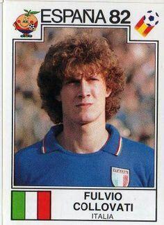 Fulvio Collovati of Italy. 1982 World Cup Finals card.
