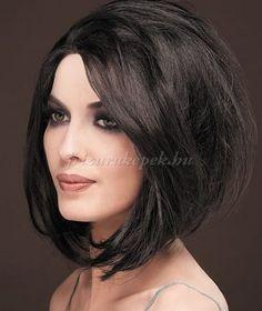 félhosszú+frizurák+egyenes+hajból+-+bubifrizura+félhosszú+hajból