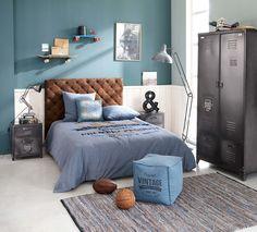 Boy's Bedroom Industrial Interior | Maisons du Monde