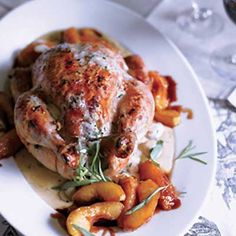 Roasted Chicken Normandy