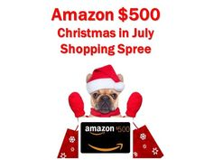 Amazon $500 Christmas in July Giveaway at Genealogy Bargains