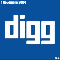1er novembre 2004 : Lancement de Digg