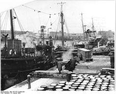.1964 Über 30 Fischereifahrzeuge auf See Durch den Einsatz von Netzsonden auf den Loggern und die Einführung der pelagischen Fischerei in einem Teil der Trawlerflotte konnten fast alle Fangfahrzeuge bereits nach zweiwöchiger Fangreise im Januar mit großen Fängen ihren Heimathafen anlaufen. Über 30 Fangfahrzeuge des Fischkombinates Rostock-Marienehe befanden sich zum Jahreswechsel auf hoher See, um einen guten Plananlauf für das Jahr 1964 zu sichern.