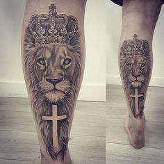 Our Website is the greatest collection of tattoos designs and artists. Find Inspirations for your next Lion Tattoo. Search for more Tattoos. Urban Tattoos, Dope Tattoos, Badass Tattoos, Leg Tattoos, Body Art Tattoos, Sleeve Tattoos, Tatuajes Tattoos, Tattoo Art, Tattoo Placement Hip