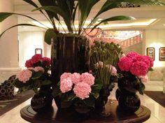 Happy pinky day from Four Seasons Hotel Bangkok's lobby!  'Like' these flowers if you have a wonderful day