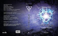 SPEKTRUM 2: GEMINIDERNE - full cover. Graphic artists: Danielle Finster & Henrik Kragh.