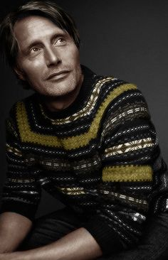 Again with the #sweaterporn ;)