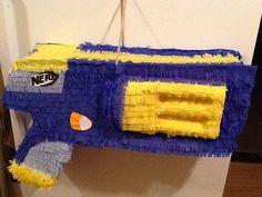 Nerf gun pinata birthday pinata by Mylittlesofy on Etsy