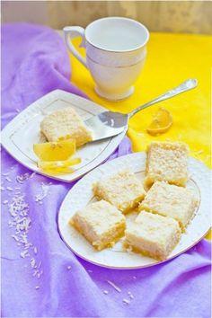 Лимонно-кокосовые квадратики с рикоттой