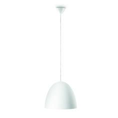 HEVER - nowoczesna lampa wisząca o białym, metalowym kloszu. Minimalna wysokość - 0,0 cm, maksymalna wysokość - 175 cm - długość - 35 cm, szerokość - 35 cm #Philips #Lighting #oświetlenie #salonu #kuchni #jadalni Ceiling Lights, Lighting, Pendant, Home Decor, Decoration Home, Room Decor, Hang Tags, Lights, Pendants