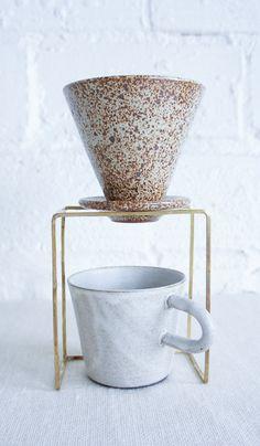 Brass Coffee Dripper Stand