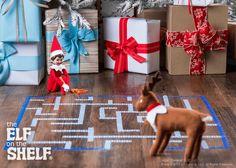 THE ELF ON THE SHELF~ Elf Merry Maze