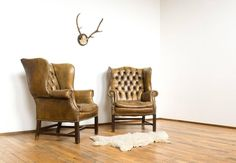 bőr fotelek Loft Design, Chesterfield, Wingback Chair, Recliner, Vintage Designs, Accent Chairs, Shabby Chic, Lounge, Modern