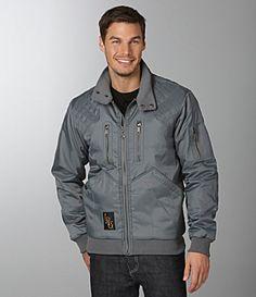 LRG Jacket, yea I love black and grey on guys