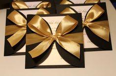 Black Gold Wedding Elegant invitations - black and gold Silver Wedding Invitations, Elegant Invitations, Invitation Cards, Wedding Cards, Party Invitations, Invites, Black And Gold Invitations, 50th Birthday Party, Birthday Cards