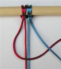great list of different macrame knots