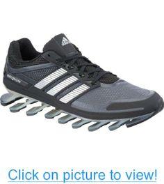 5b1dc6f3899 adidas Mens Springblade M US Black Metallic Silver Lead
