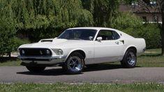 1969 Ford Mustang Boss 429 in Wimbledon White - KK 1630